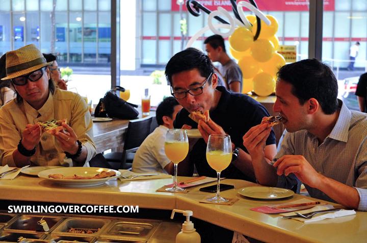Chef Laudico, Griffith Go, Archie Rodriguez