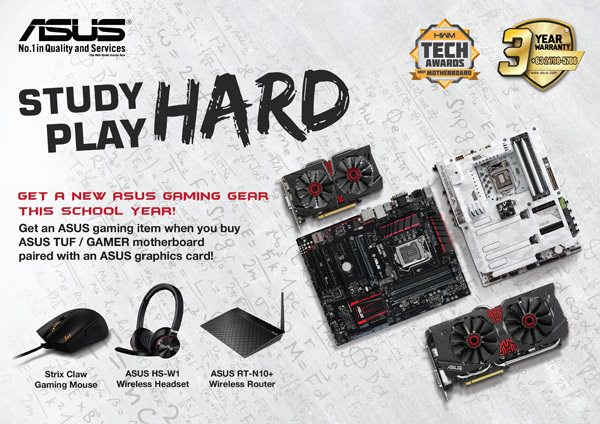 ASUS Announces Study Hard Play Hard Promo (1)