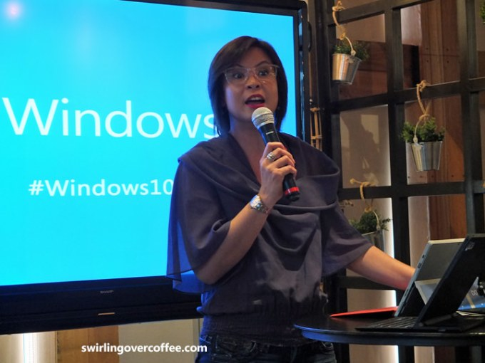 Karrie Ilagan, Windows 10, Microsoft Philippines