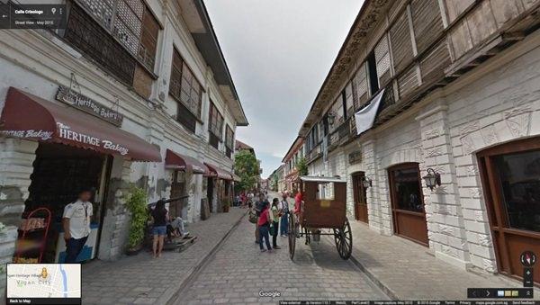 Calle Crisologo Vigan Google Street View