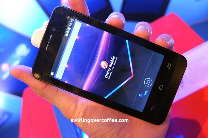 Cherry Mobile MAIA i4 price, Cherry Mobile MAIA i4 review, Janella Salvador
