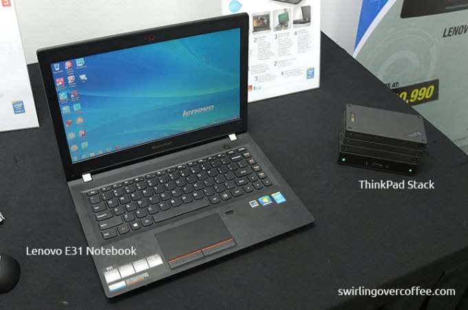 Lenovo S500 SFF Desktop, Lenovo E31 Notebook