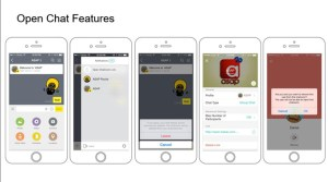 Kakao Talk, Open Chat, Instant Messenger
