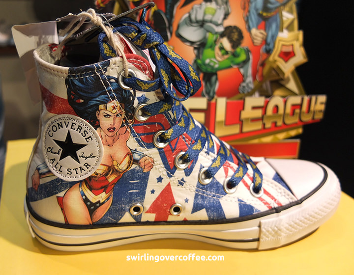 198746ce85b46 Launched  Converse Chuck Taylor All Star DC Comics Sneakers –  SwirlingOverCoffee
