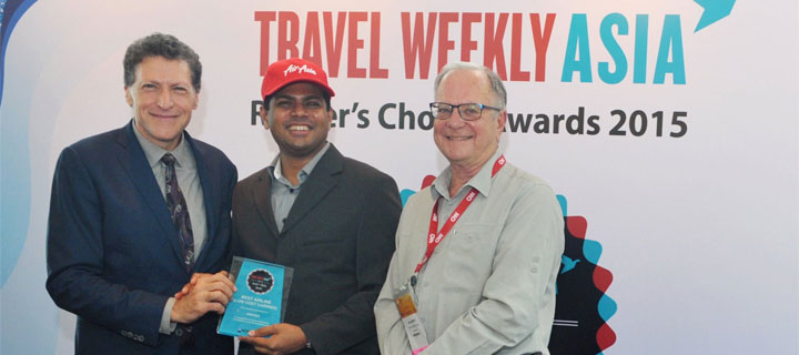 Travel Weekly Asia readers name AirAsia as Best Low Cost Carrier!