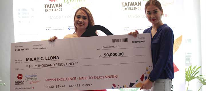 Taiwan Excellence Made To Enjoy Singing announces First Grand Winner