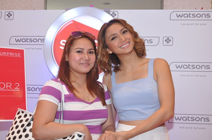 Switcher Surprise Winner Julie Mamhot and Switch and Save Endorser Iya Villana