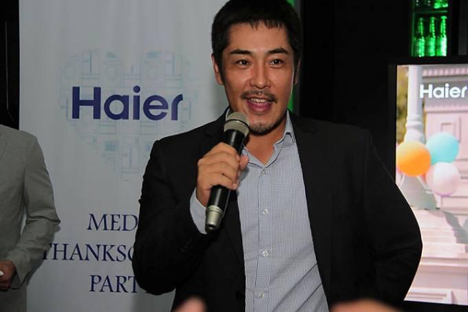 Nobuhito Hayashi, Haier Philippines