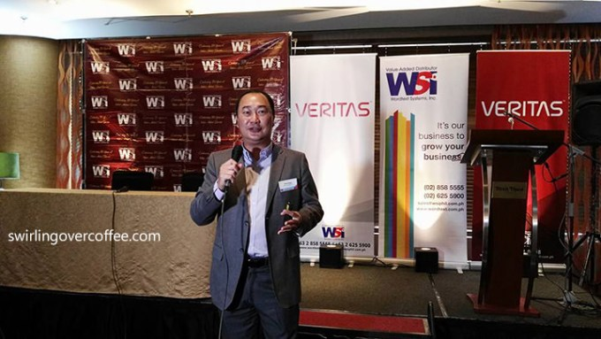 Victor Cheng, Veritas Managing Director of Sales, Asia Pacific.