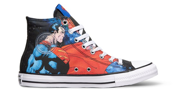 Converse Limited Edition DC Comics Sneakers, Team Superman