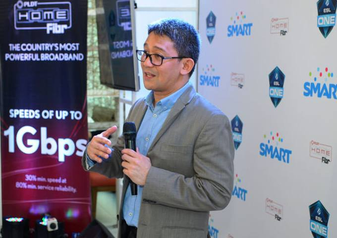ESL One Manila_Ariel P Fermin, EVP and Head of Consumer Business at PLDT and Smart