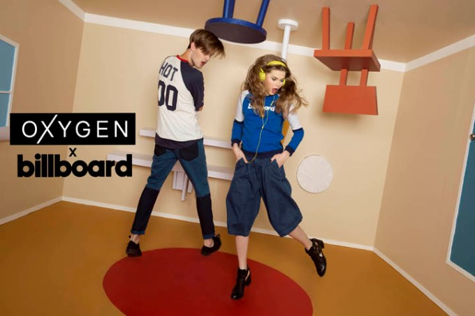 Fashion brand Oxygen held a pop-up music festival to launch collaboration with Billboard.
