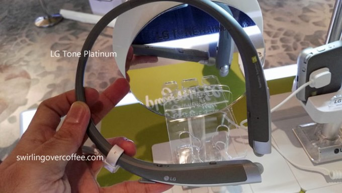 LG Tone Platinum Bluetooth headset. P7990.