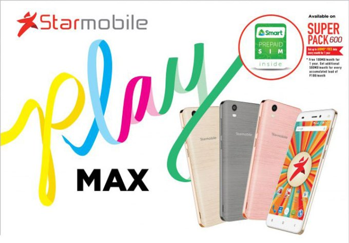Starmobile PLAY Max, Starmobile PLAY Max specs, Starmobile PLAY Max price