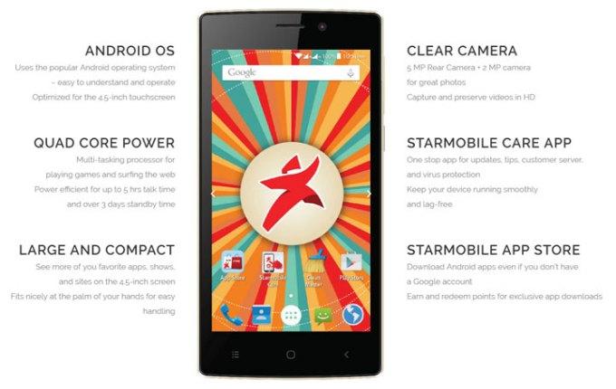 Starmobile PLAY Click 1288, Smart Prepaid Kit