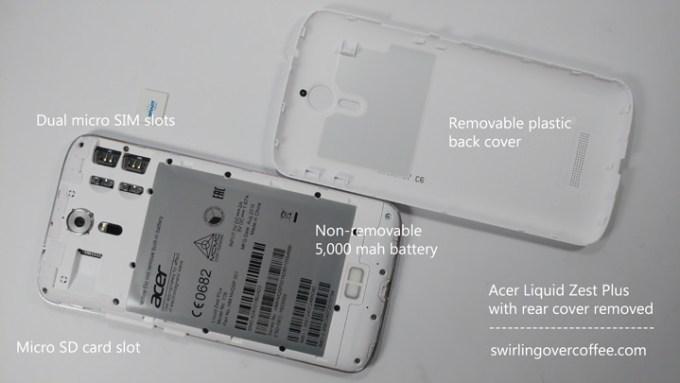 Acer Liquid Zest Plus review, Acer Liquid Zest Plus price, Acer Liquid Zest Plus specs