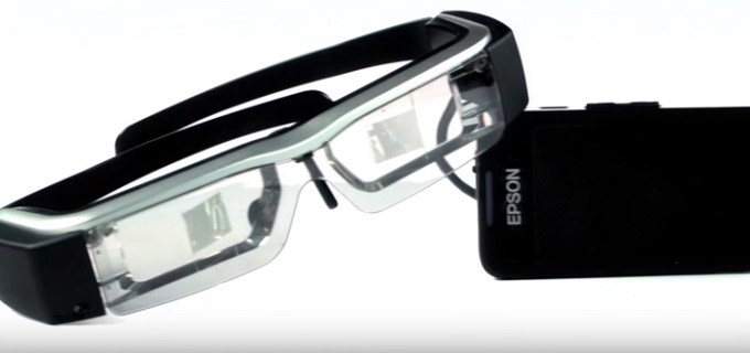 Epson Moverio Smart Glass, Augmented Reality, Formula One
