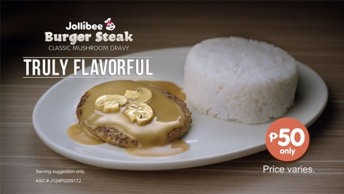 Jolibee- Burger-Steak