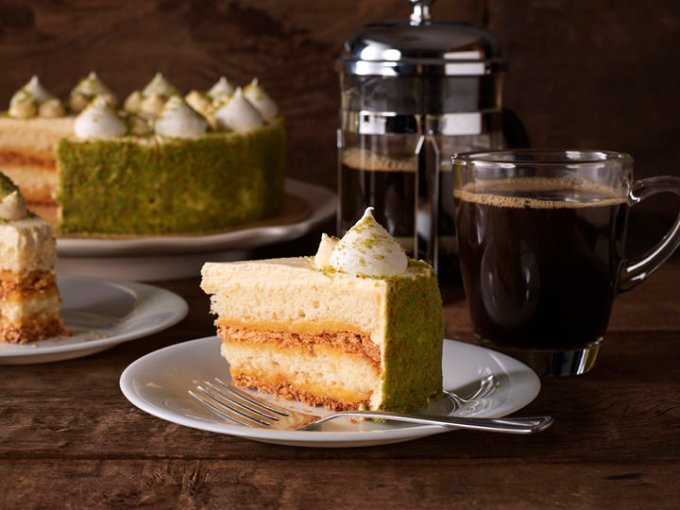 Starbucks Lime Torte Cake