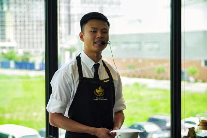 2017 Starbucks Philippines Coffee Ambassador Miguel Bautista.