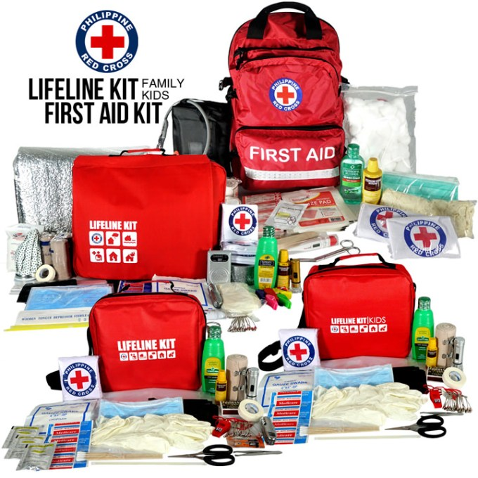 Shopee First Aid Kit, Philippine National Red Cross, Disaster Preparedness