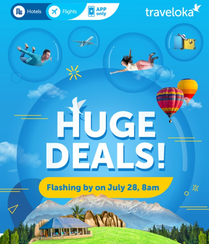 Traveloka Flash Sale July