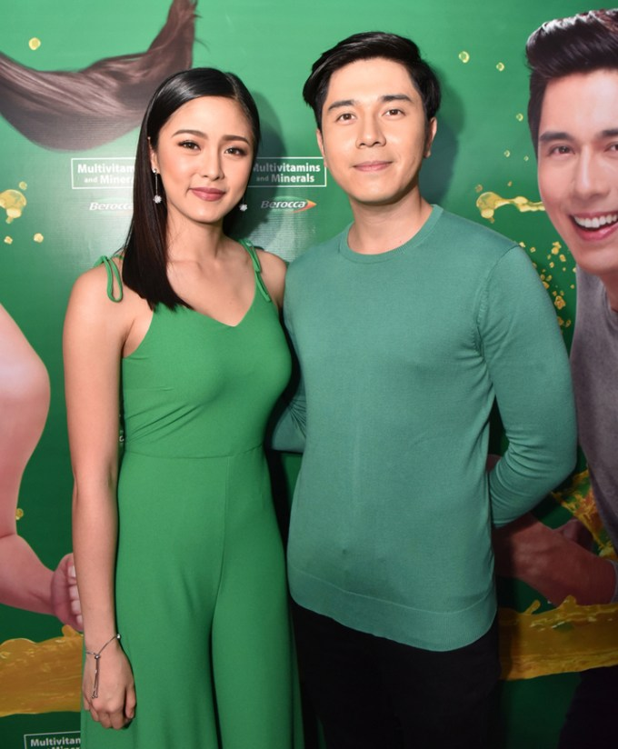 Kim Chiu and Paulo Avelino, the new brand ambassadors of Berocca.