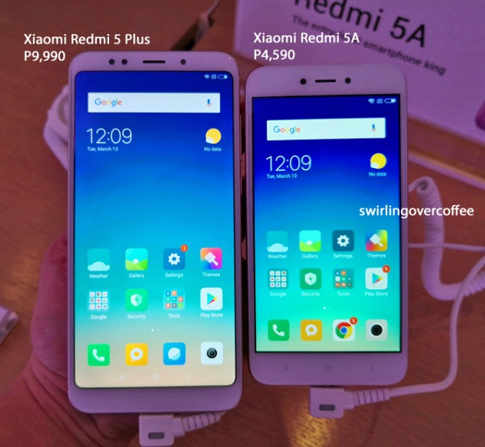 Xiaomi Redmi 5 Plus price, Xiaomi Redmi 5A price