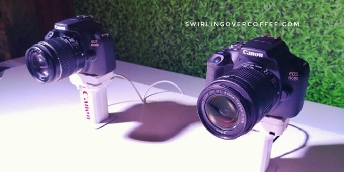 Canon EOS 3000D and Canon EOS 1500D