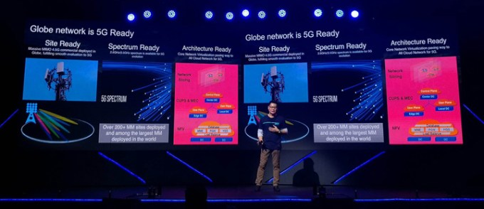 Globe Telecom President and CEO Ernest Cu has announced that 5G wireless technology will be commercially available by mid-2019, via 5G Globe At Home service.