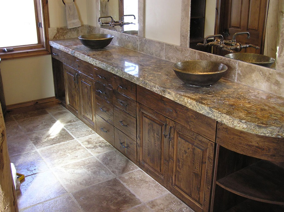 Custom Bathroom Vanities In Utah Swirl Woodcraft