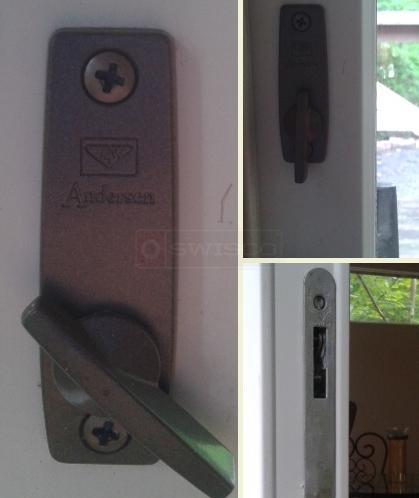 Andersen lock for slider  SWISCOcom