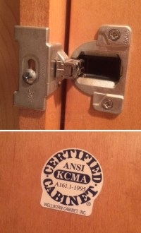Wellborn cabinet door hinge replacements : SWISCO.com