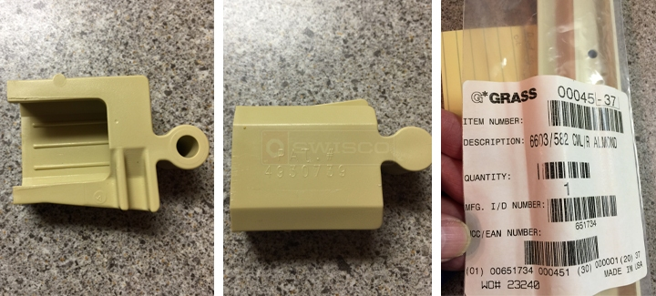 Replacement part for Haas connector  SWISCOcom