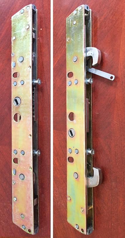 double hook mortise lock sliding glass