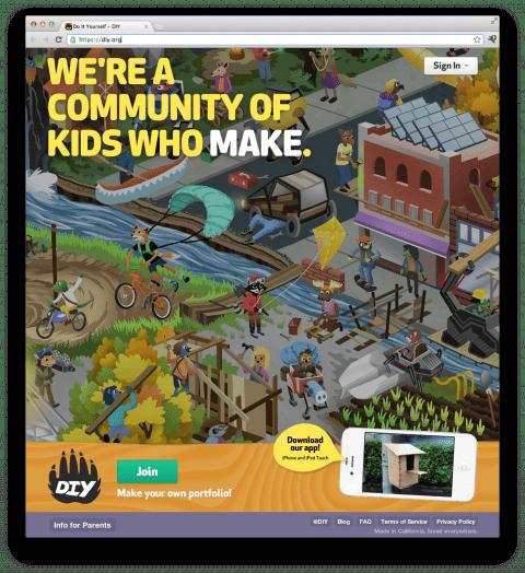 DIY.org: donde los niños comparten su creatividad (1/2)