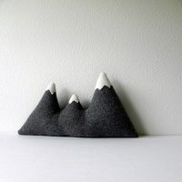 swissmiss | Mountain Range Pillow