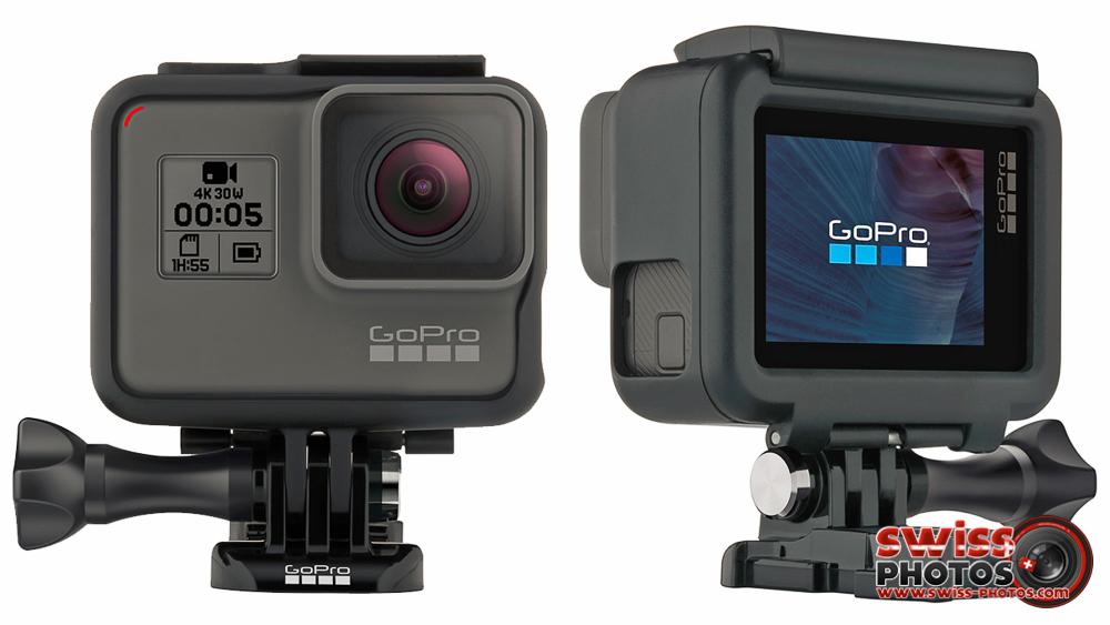 GoPro HERO5 Black et GoPro 5 Session