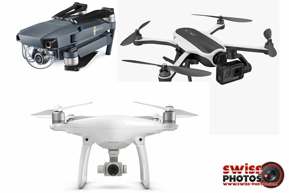 Comparatif des Drones