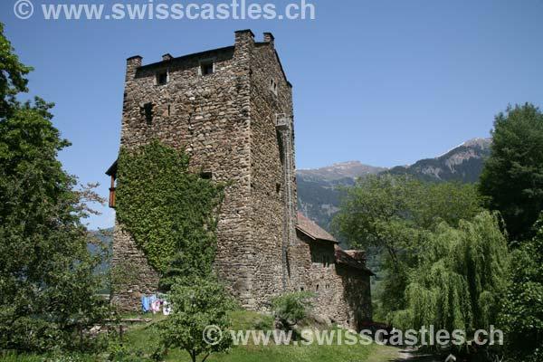 Graubuenden grisons  Sils in Domleschg Ehrenfels