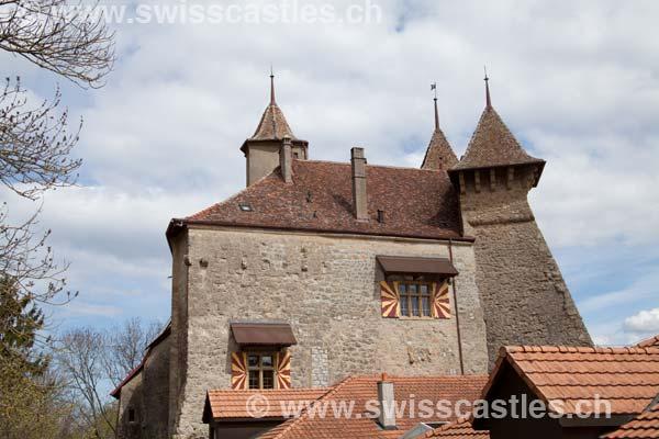 Neuchatel  Le chateau de Vaumarcus