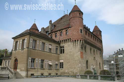 Vaud Les chteaux de Lausanne Le chteau St Maire