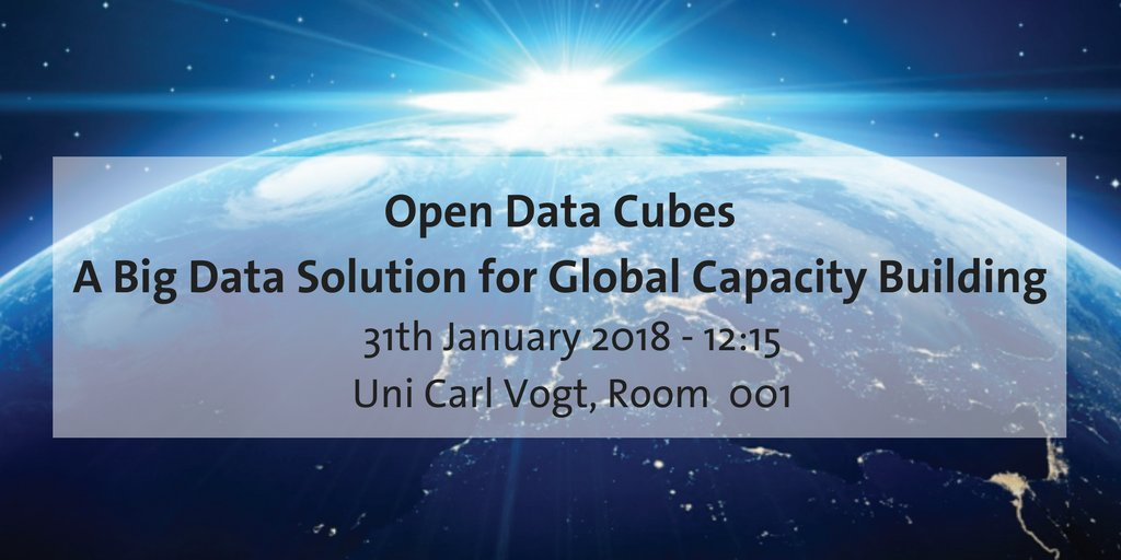Open Data Cubes: A Big Data Solution for Global Capacity