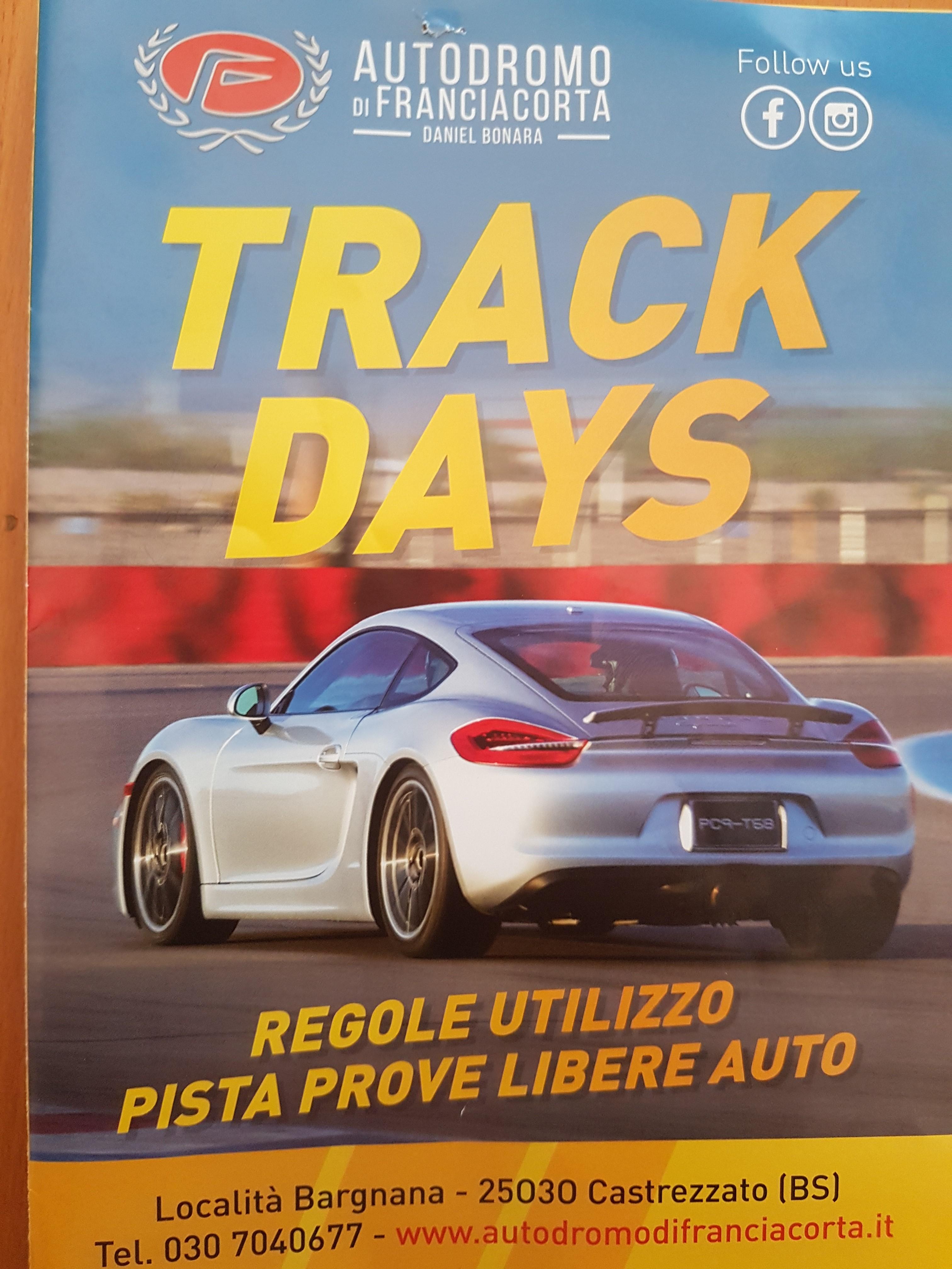 Sicurezza in pista e nei Trackdays: regole e buon senso.