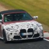 Bmw M4 Cabriolet, video spia al Nurburgring