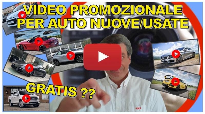 VIDEO PROMOZIONALE PER AUTO NUOVE/USATE | VLOG 13