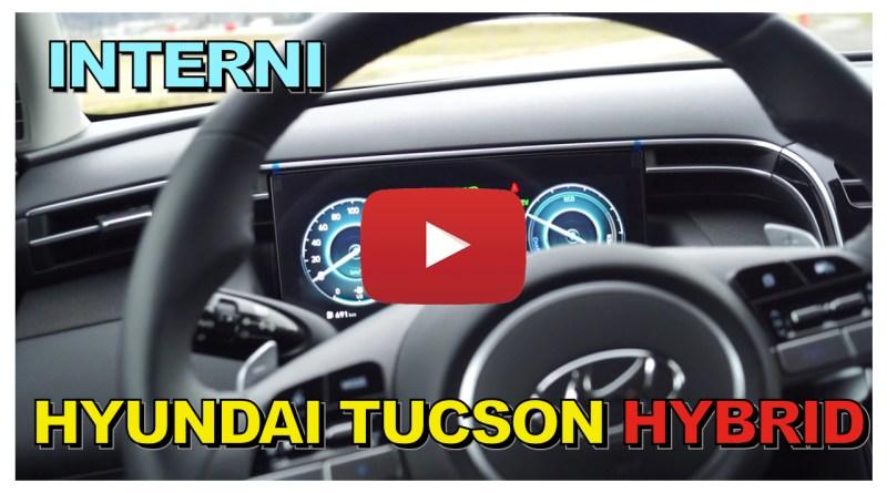 HYUNDAI TUCSON HYBRID 2021, INTERNI E TECNOLOGIA | VLOG 15