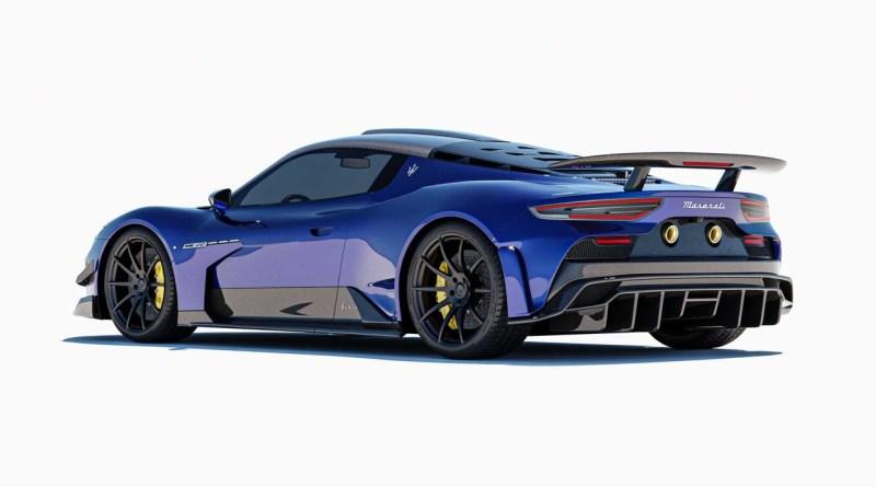 Il nuovo Bodykit Aria di 7 Design per la Maserati MC20