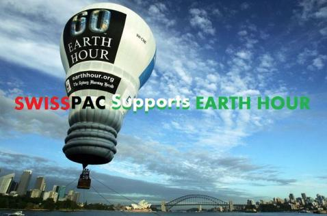 Earth-Hour- Swisspac Support