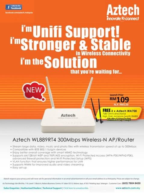 Aztech WL889RT4